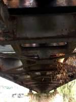 brucken-und-uberfuhrungsbauwerke/163075/mit-schwerer-technik-wird-die-alte Mit schwerer Technik wird die alte Saalebrücke in Roßbach demontiert; 08.10.2011 (Foto: Klaus Pollmächer)