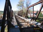 brucken-und-uberfuhrungsbauwerke/164119/am-16102011-war-bereits-das-gleisbett Am 16.10.2011 war bereits das Gleisbett auf der alten Saalebrücke in Roßbach demontiert wurden. (Foto: Hans Grau)