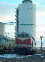 v180/10839/anderer-blickwinkel-auf-die-elp-525005-5 Anderer Blickwinkel auf die ELP 5250.05-5 bei ARCO in Karsdorf; 18.02.2009