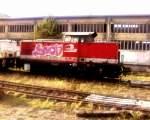 v60/174399/die-lotrac-3-lew-197213347-stand Die LOTRAC 3 (LEW 1972/13347) stand am 03.12.2011 immer noch abgestellt am Zementwerk Karsdorf.