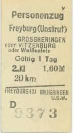 fahrkarten/99230/eine-fahrkarte-aus-dem-jahr-1984 Eine Fahrkarte aus dem Jahr 1984. (Sammlung: Mario Fliege)
