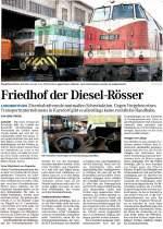 presse/132901/am-08042011-berichtete-die-mitteldeutsche-zeitung Am 08.04.2011 berichtete die Mitteldeutsche Zeitung über die Verschrottung der alten Lokomotiven in Karsdorf.
