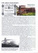 presse/32310/teil-einer-broschuere-des-rosslebener-heimatverlages Teil einer Broschüre des Roßlebener Heimatverlages, in der auch die Geschichte der Unstrutbahn berücksichtigt wird.