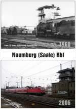 vergleichsbilder/161604/vergleichsbild-vom-stellwerk-b2-und-w2 Vergleichsbild vom Stellwerk B2 und W2 in Naumburg Hbf. Die Zeit, in der die 58 1676 beim Bw Weißenfels war (1957 bis 1965), habe ich Stationierungsverzeichnissen entnommen. 1967 wurde im Abschnitt Weißenfels - Camburg der elektrische Betrieb wieder aufgenommen. Das Foto von Gerhard Illner muss also dazwischen aufgenommen worden sein. Die linke Maschine ist vermutlich eine 56er (schmalerer Schornstein, 4 gekuppelte Achsen). (Foto: Klaus Pollmächer)