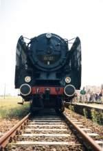 dampfloks/187887/01-137-mit-einem-sonderzug-im 01 137 mit einem Sonderzug im Bf Roßleben. Aufnahmedatum leider unbekannt. (Foto: Ingo Heidenreich)