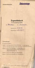 dokumente/145542/das-zugmeldebuch-vom-bf-kirchscheidungen-fuer Das Zugmeldebuch vom Bf Kirchscheidungen für den Streckenabschnitt Karsdorf - Laucha, begonnen am 04.08.1983; (Sammlung: Familie Klier)